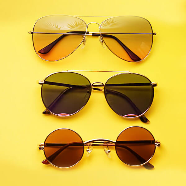 Why it's important to choose the right lens colour for your sunglasses